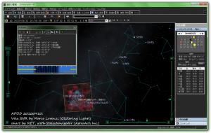 ステラナビゲータの星図