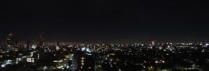 ベランダから見た風景(夜)